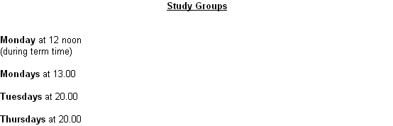 Study Groups